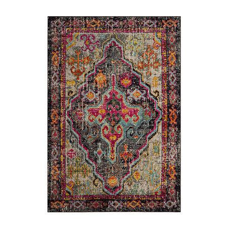 Safavieh Monaco Collection Marilou Oriental Area Rug, One Size , Multiple Colors