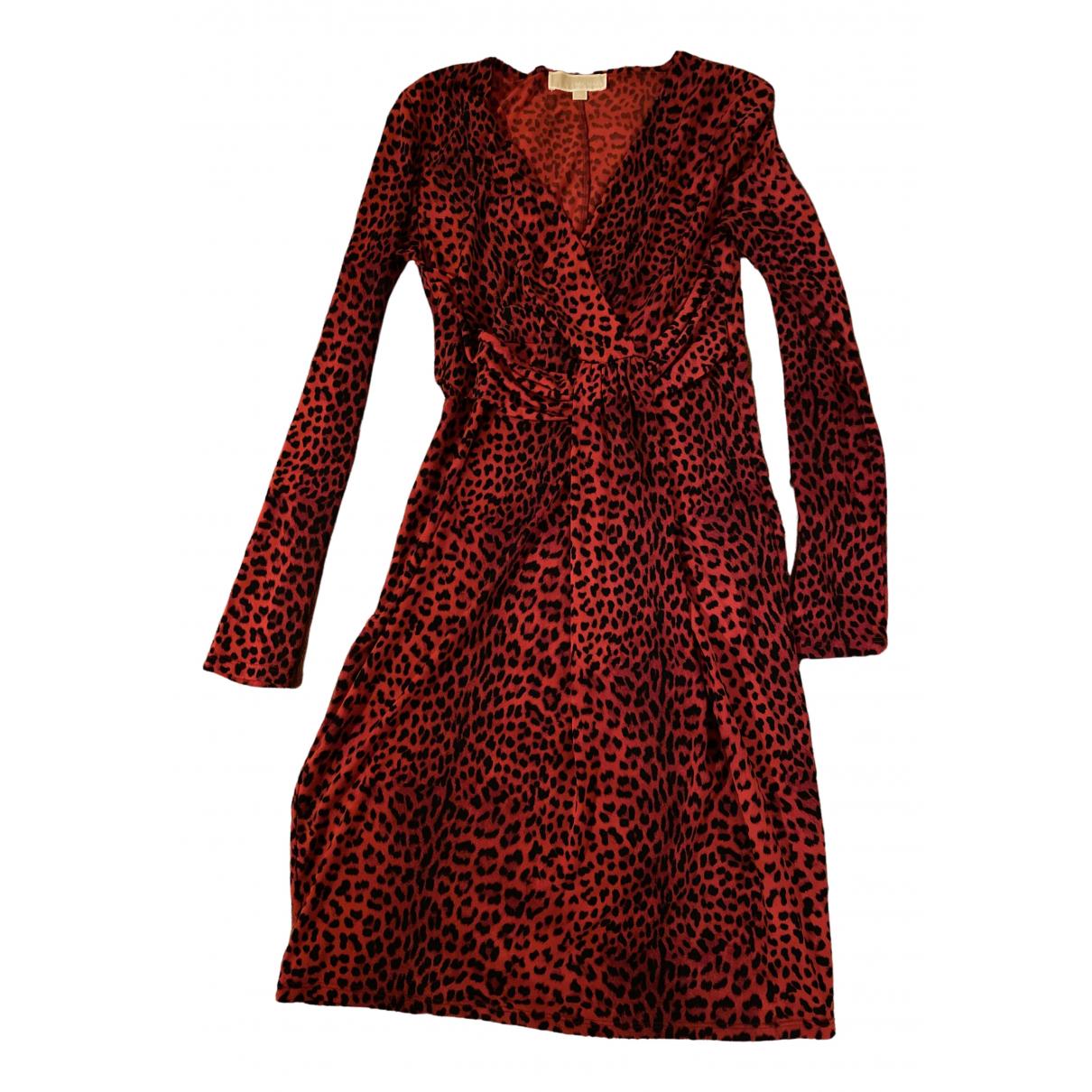 Michael Kors \N Kleid in  Rot Polyester