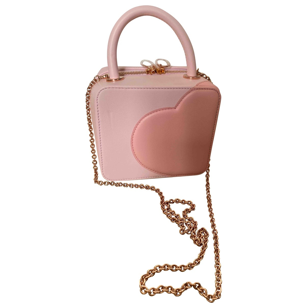 Chopard \N Pink Leather handbag for Women \N