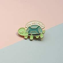 Kids Turtle Design Brooch