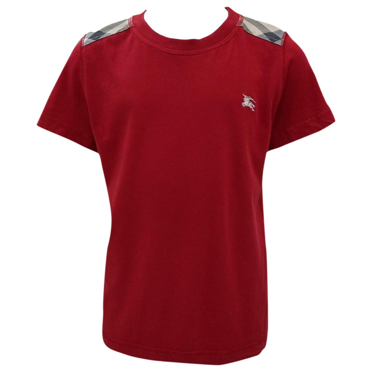 Burberry \N Red Cotton  top for Kids 12 years - XS UK