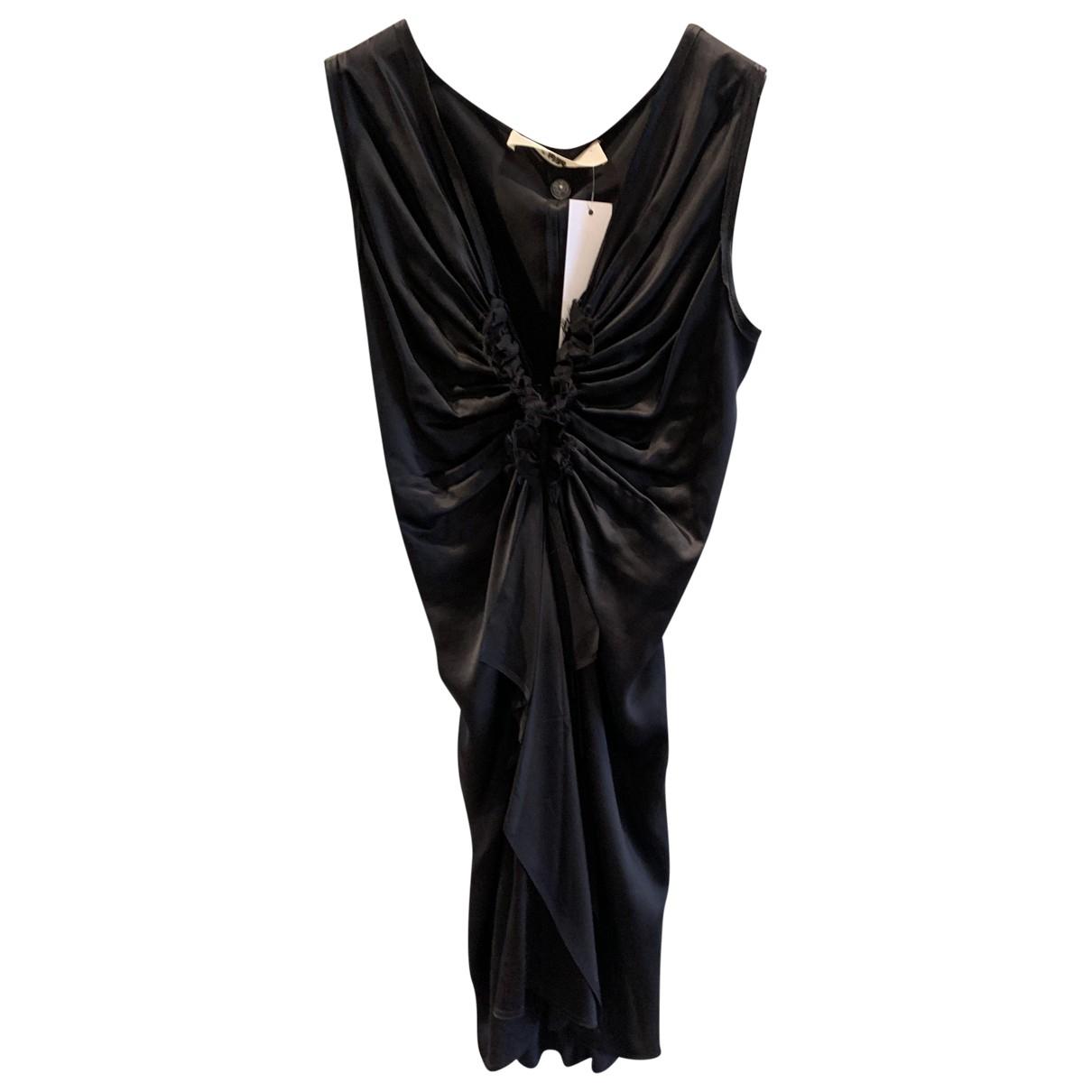 Lanvin \N Black Silk dress for Women 38 IT