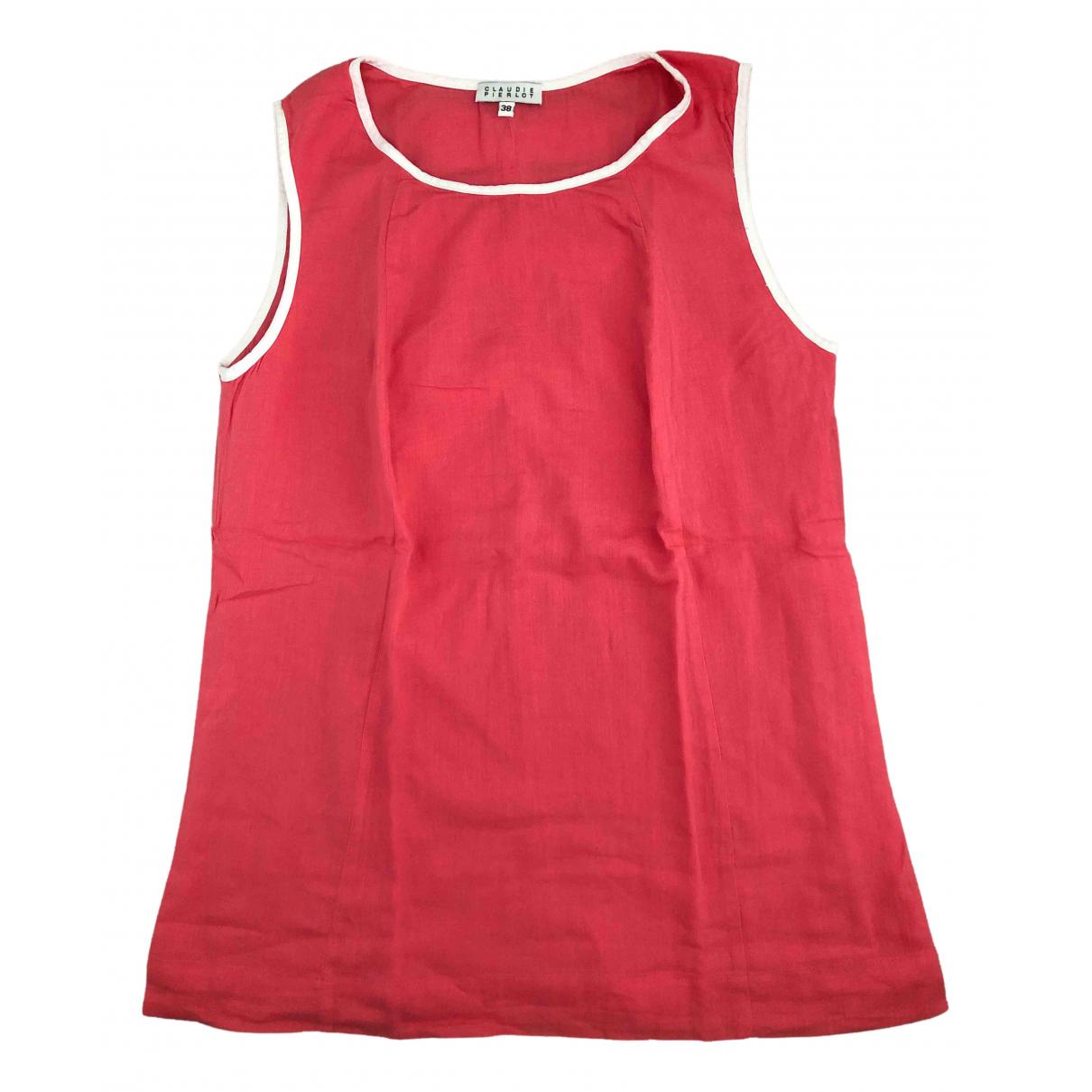 Claudie Pierlot - Top   pour femme en coton - rose