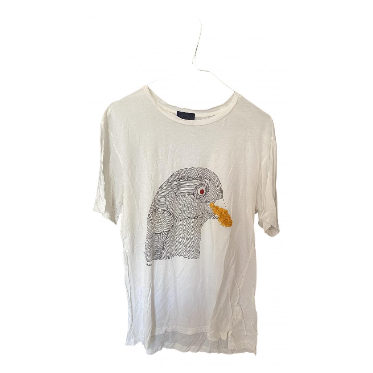 Lanvin - Tee shirts   pour homme en coton - blanc