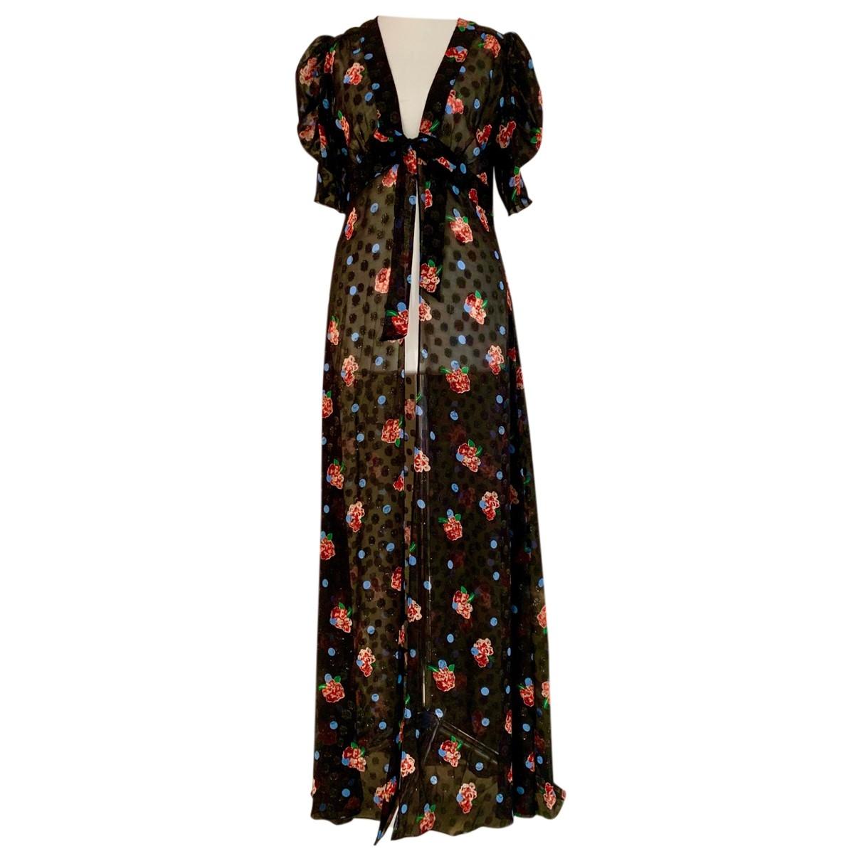 Anna Sui - Robe   pour femme en soie - noir