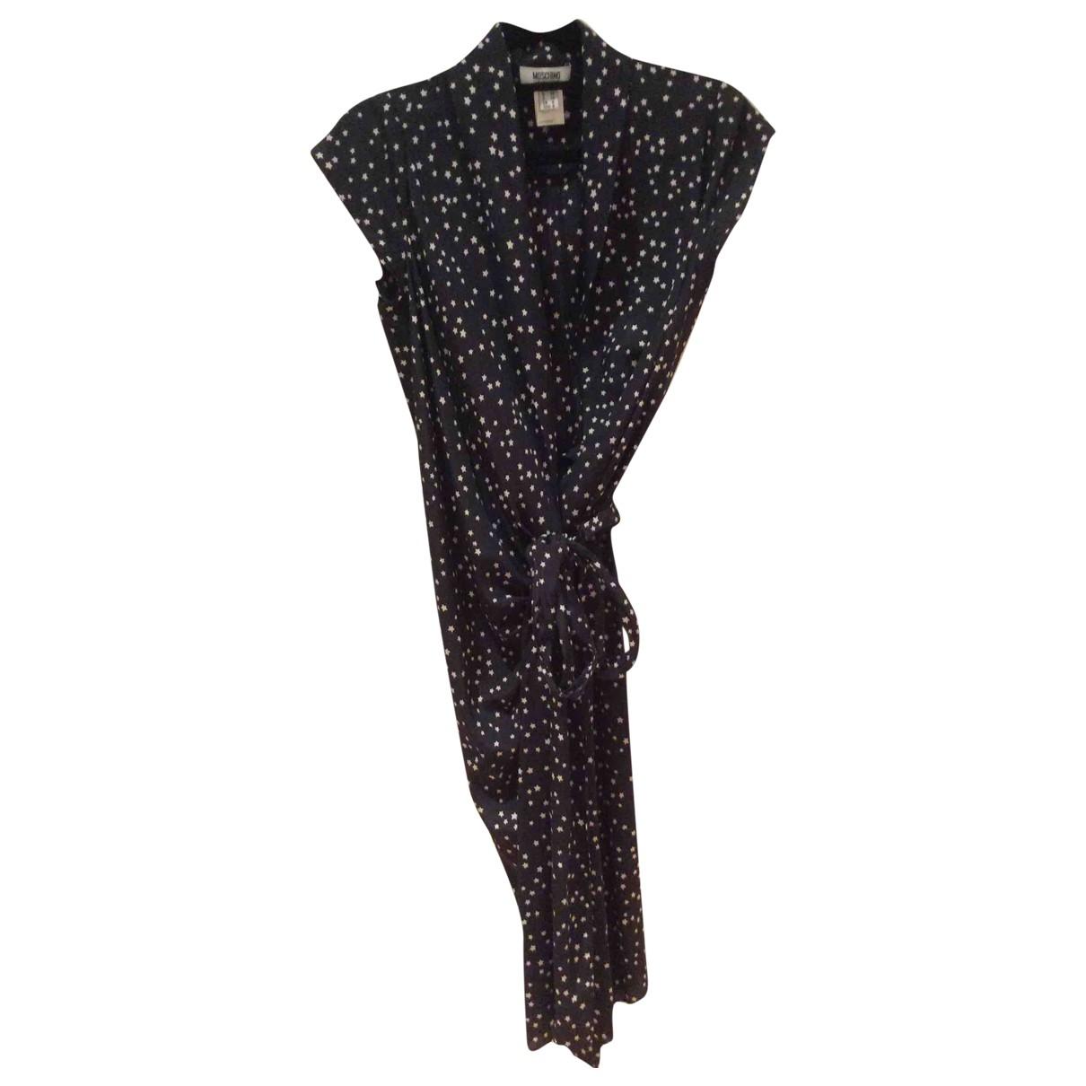 Moschino Cheap And Chic - Robe   pour femme en soie - noir