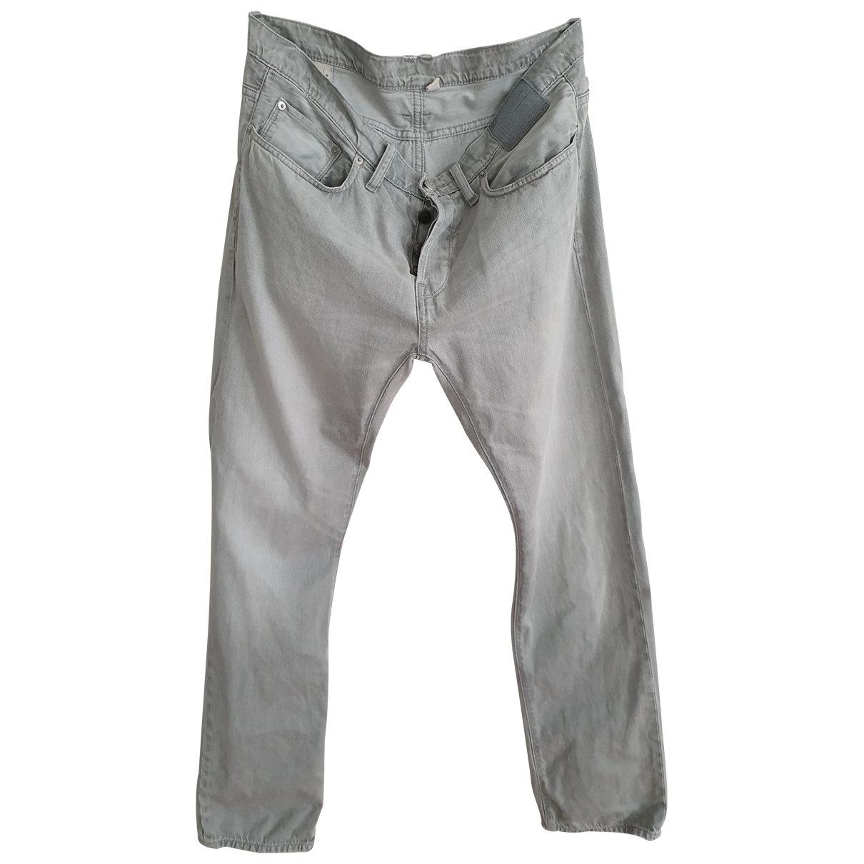 Edun \N Grey Cotton Jeans for Men 32 US