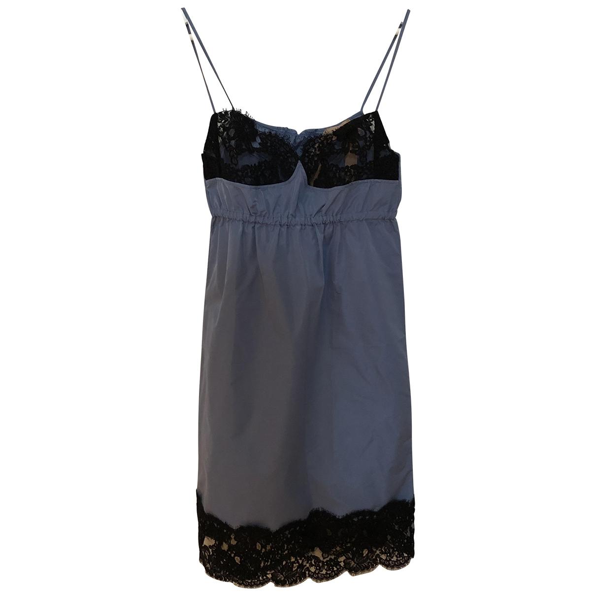 N°21 - Robe   pour femme - bleu