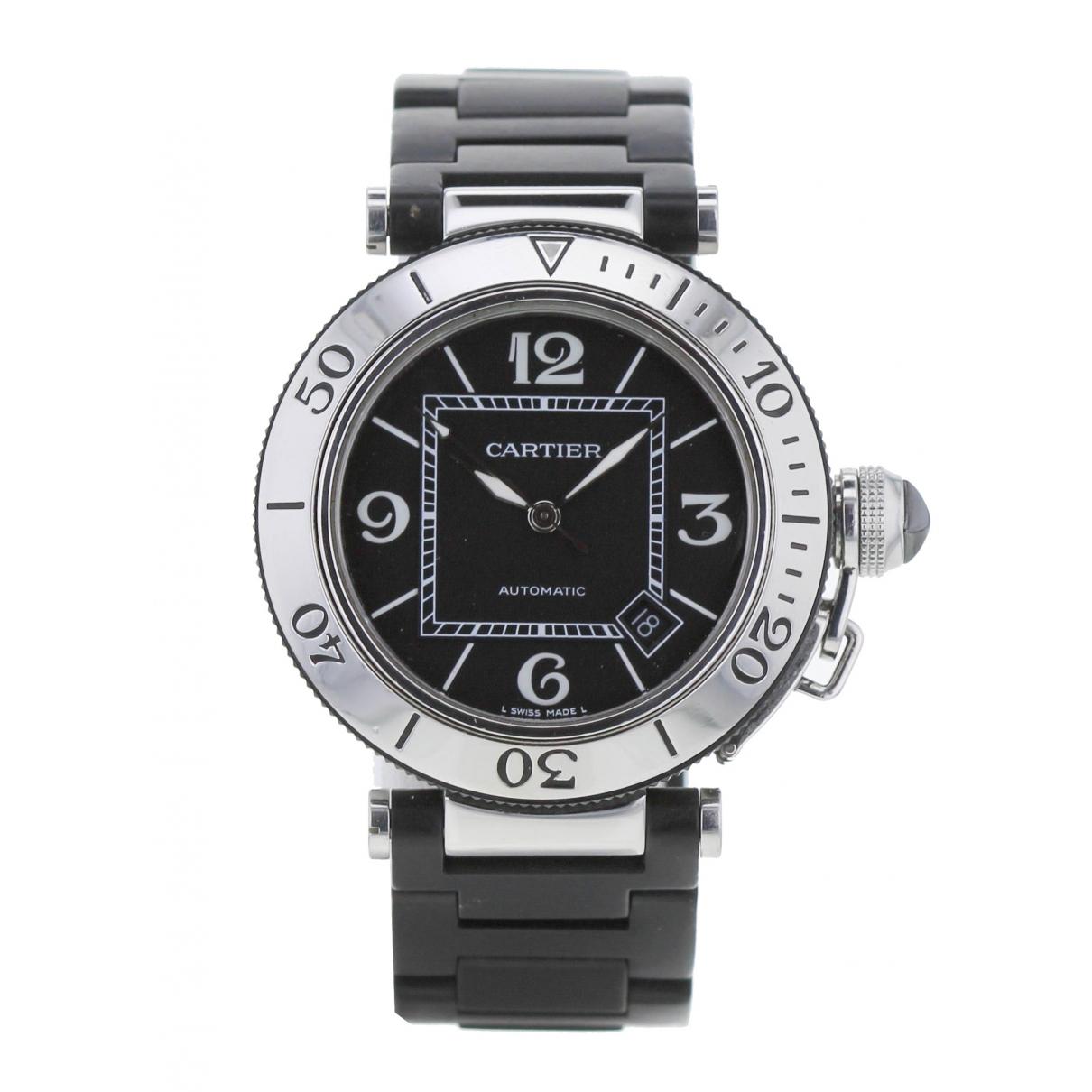 Cartier Pasha Khaki Steel watch for Women 34 EU