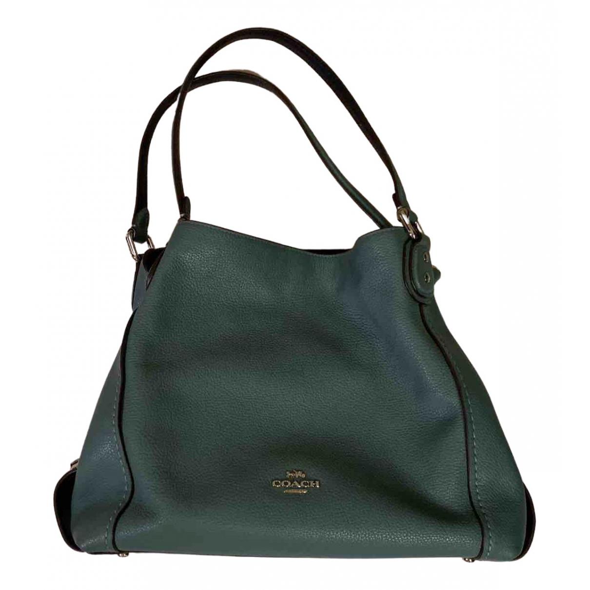 Coach N Green Leather handbag for Women N