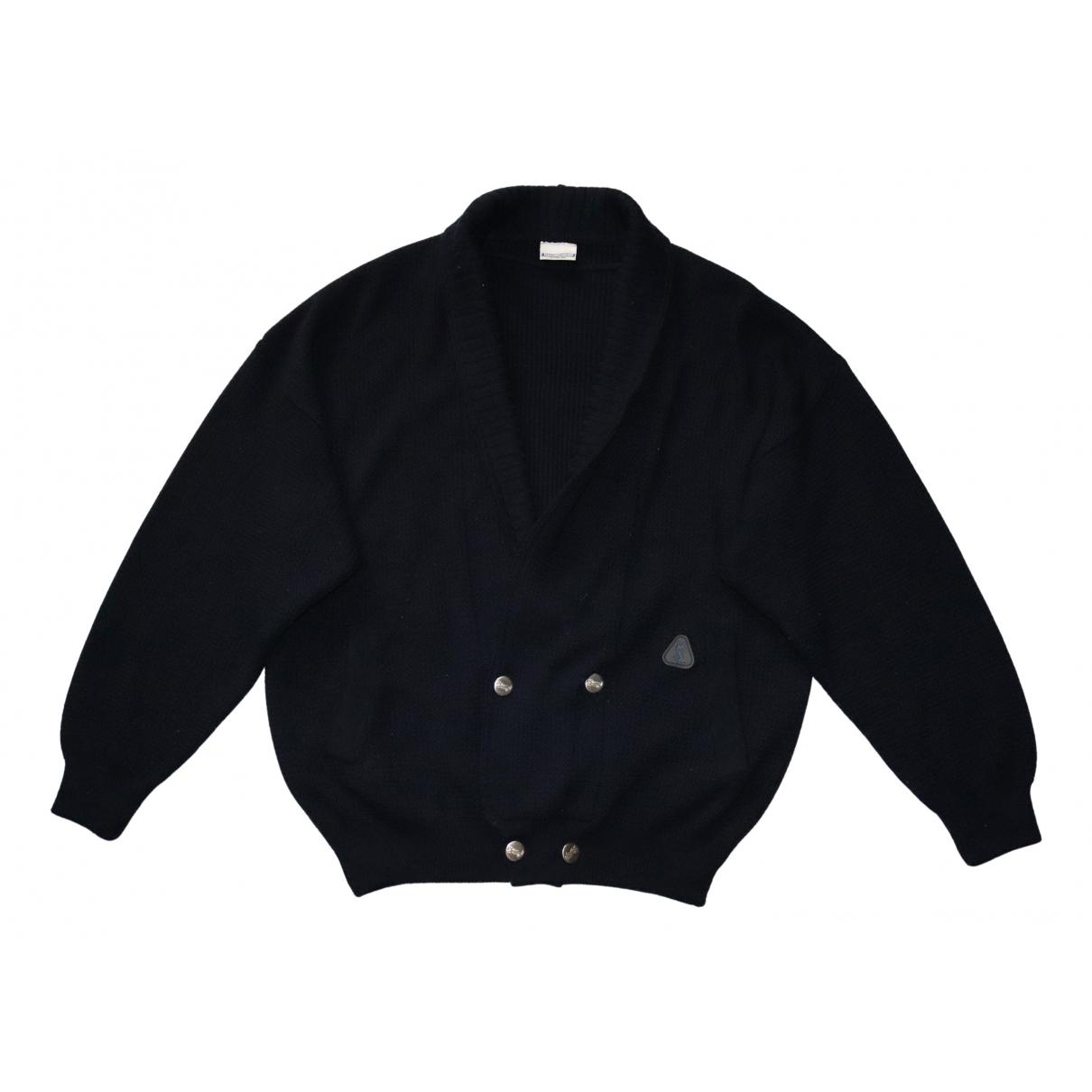 Yves Saint Laurent - Pulls.Gilets.Sweats   pour homme en laine - marine