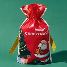 1pc Christmas Santa Claus Gift Bag