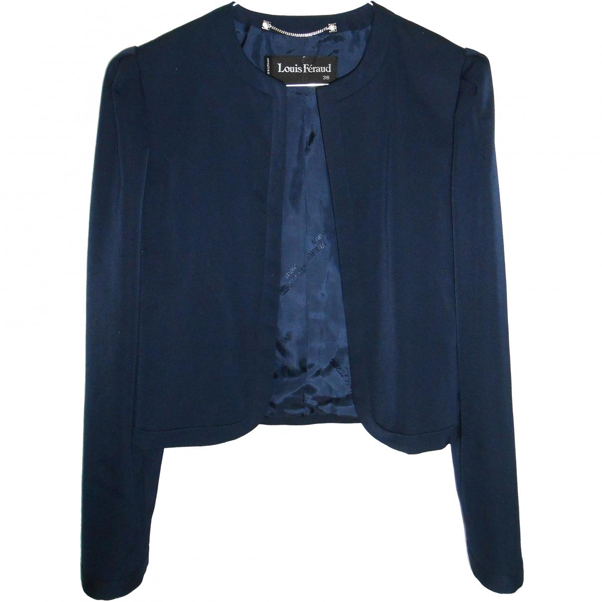 Louis Feraud \N Navy jacket for Women 36 FR