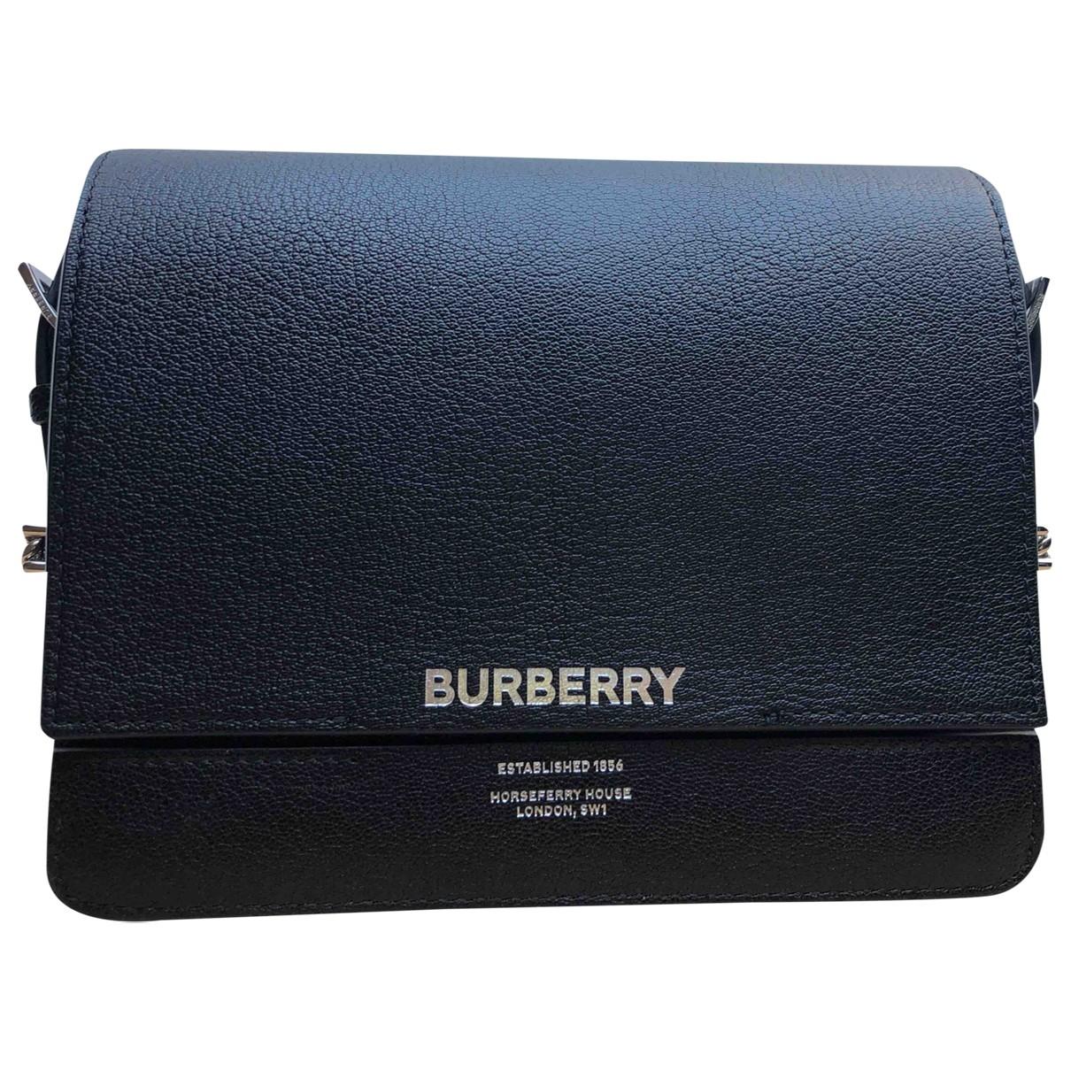 Pochette de Cuero Burberry