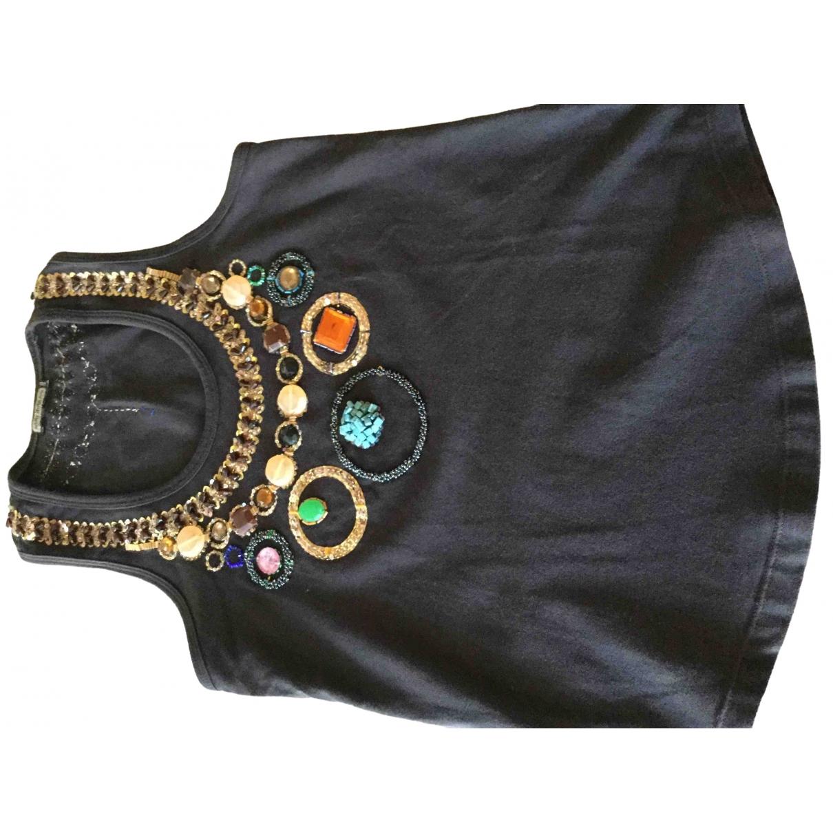 Maliparmi - Top   pour femme en coton - multicolore