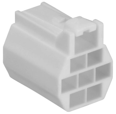 Hirose , DF62 Female Connector Housing, 2.2mm Pitch, 7 Way, 3 Row (10)