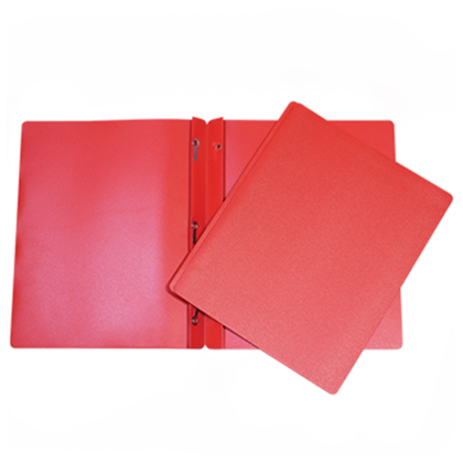 GEO DUO-TANG Polypropylene 3 Fasteners Report Cover, 1 cover per pack - Red