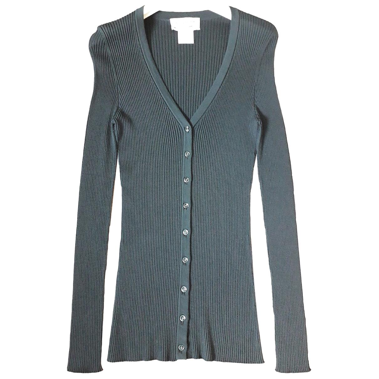 Yves Saint Laurent \N Pullover in  Gruen Wolle