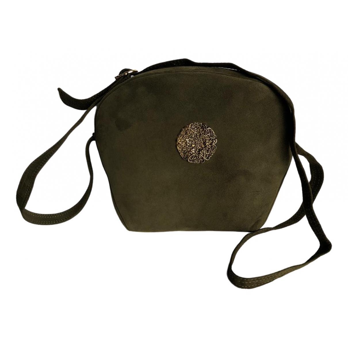 Laurel \N Handtasche in  Gruen Veloursleder