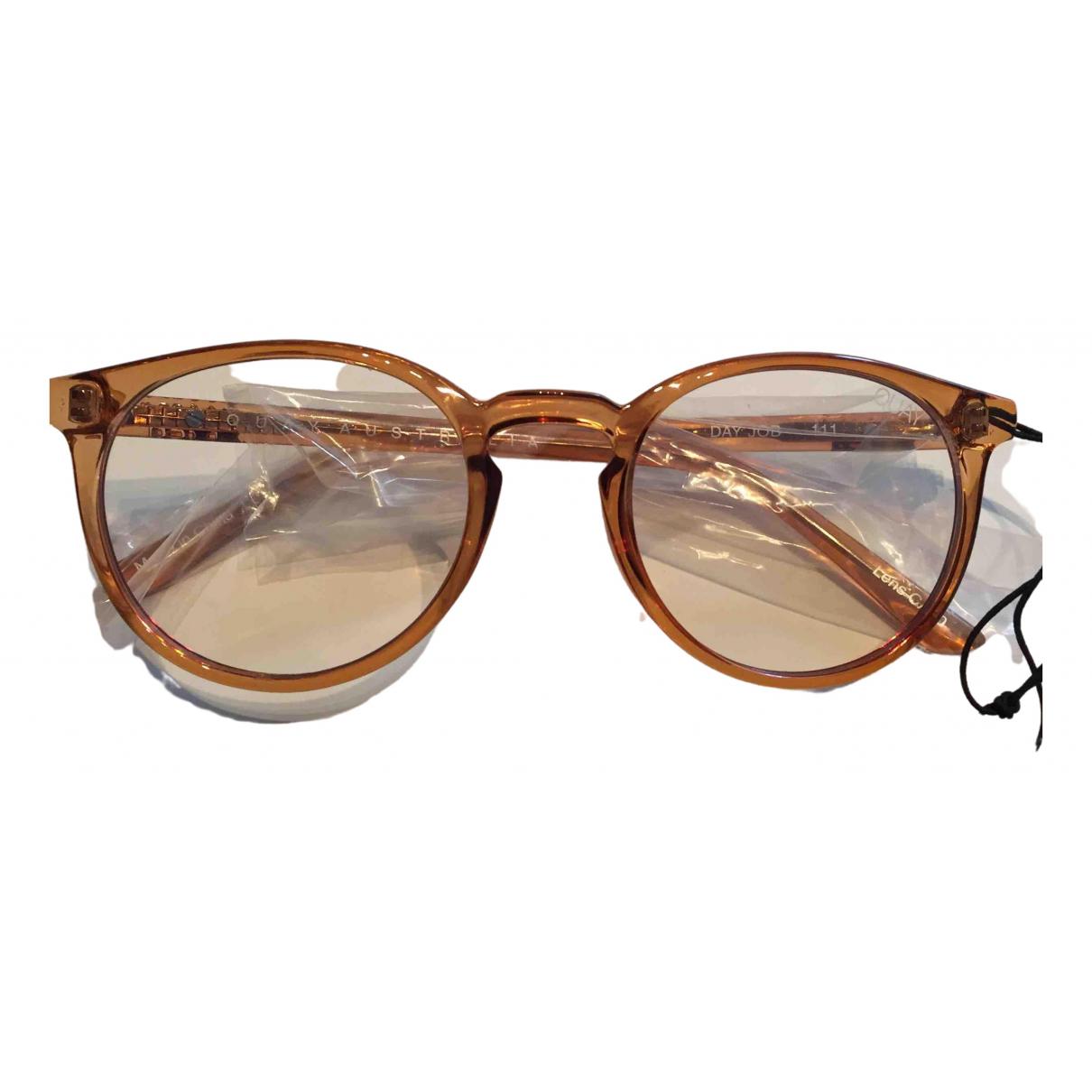 Quay \N Sonnenbrillen in  Braun Kunststoff