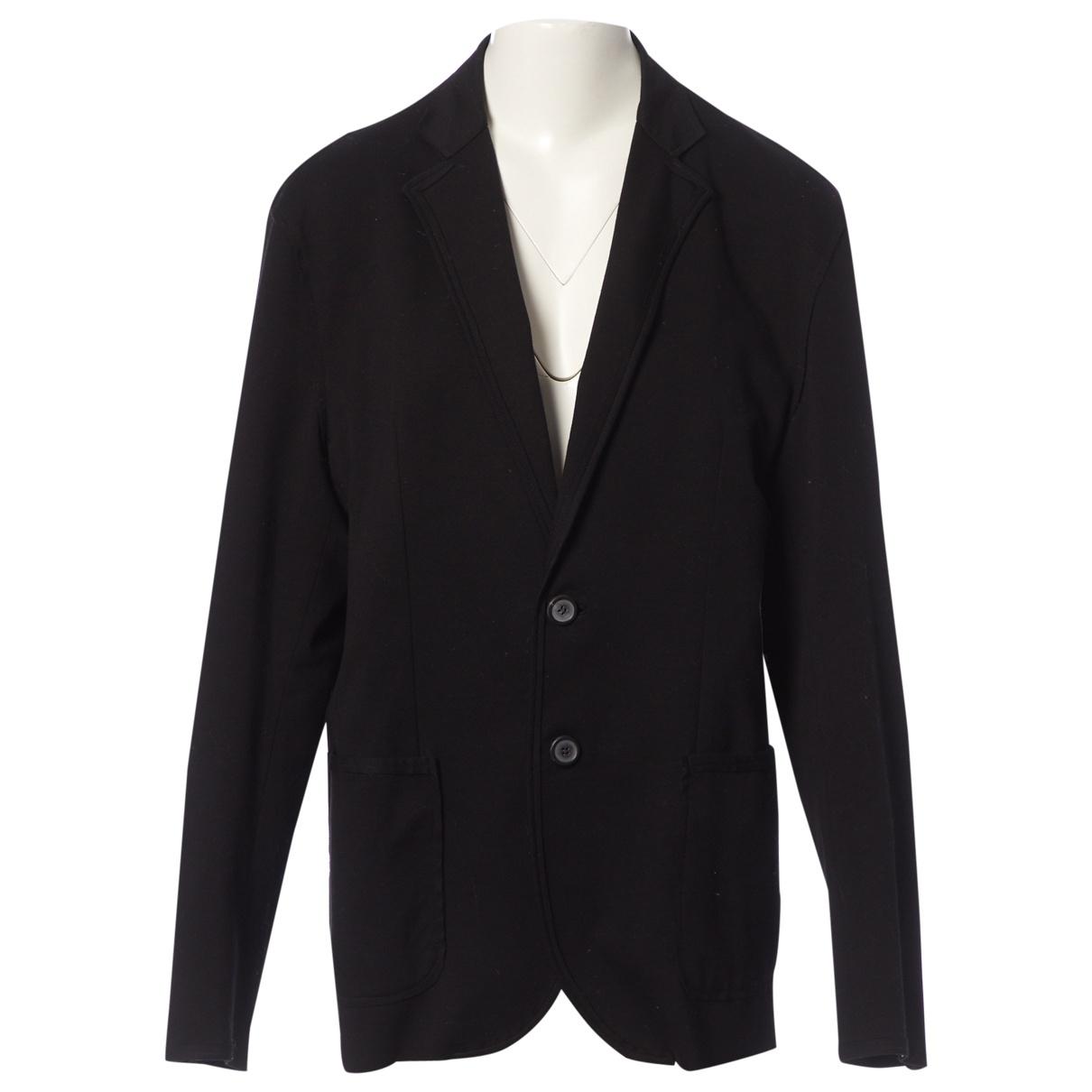 Lanvin \N Black Cotton jacket  for Men 52 FR