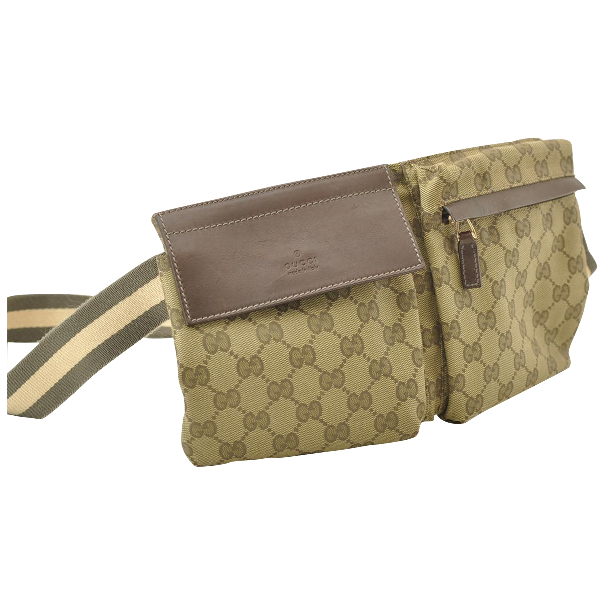 Gucci \N Beige Cloth Clutch bag for Women \N