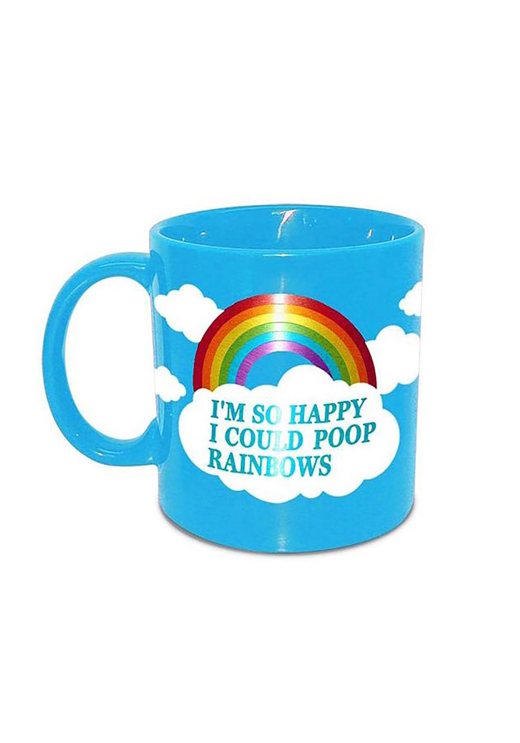 I'm So Happy I Could Poop Rainbows Coffee Mug