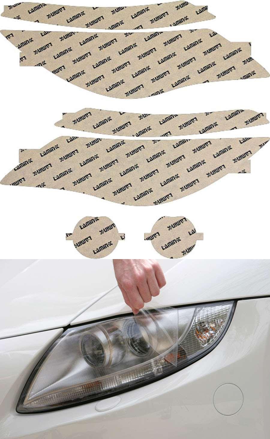 BMW 6-Series 04-07 Clear Headlight Covers Lamin-X B016CL