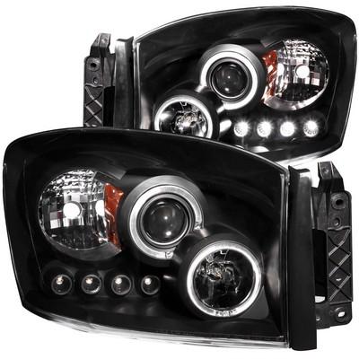 Anzo Projector Headlight Set; w/Halo - ANZ111209