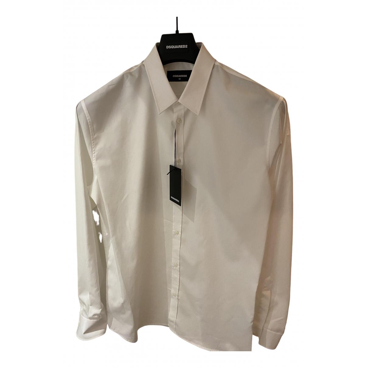 Dsquared2 \N Hemden in  Weiss Baumwolle