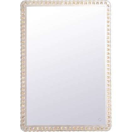Evelyn Collection MRE62840C Rectangle 28In X 40In Hardwired LED Mirror With Touch Sensor And Color Changing Temperature
