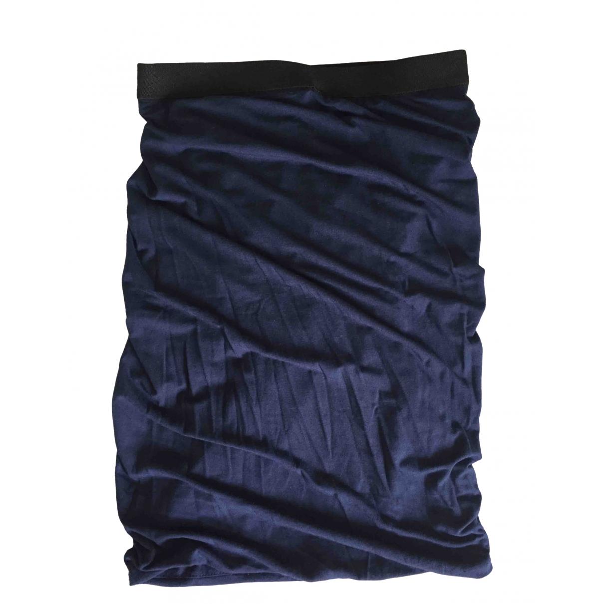 T By Alexander Wang \N Navy skirt for Women XS International