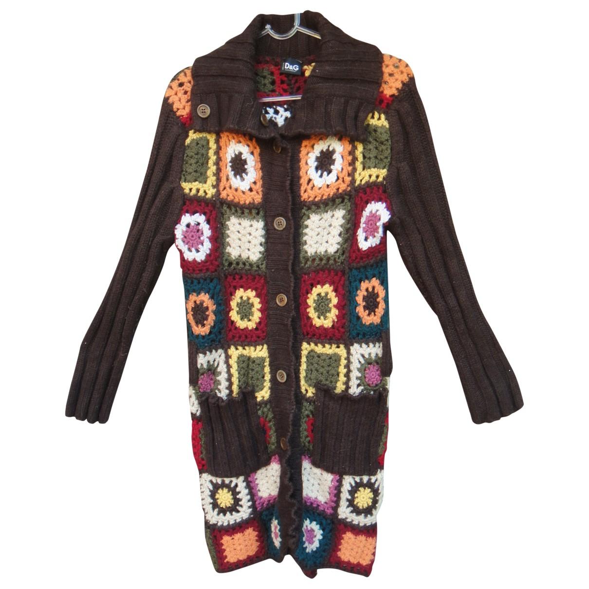 Dolce & Gabbana \N Multicolour Wool Knitwear for Women 42 IT