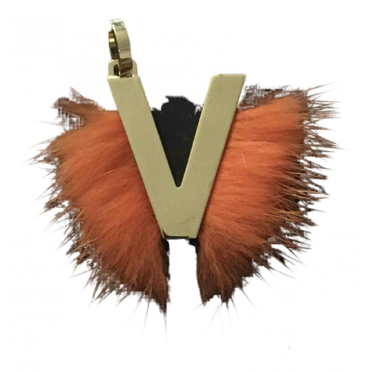 Fendi - Bijoux de sac ABCharm pour femme en metal - dore
