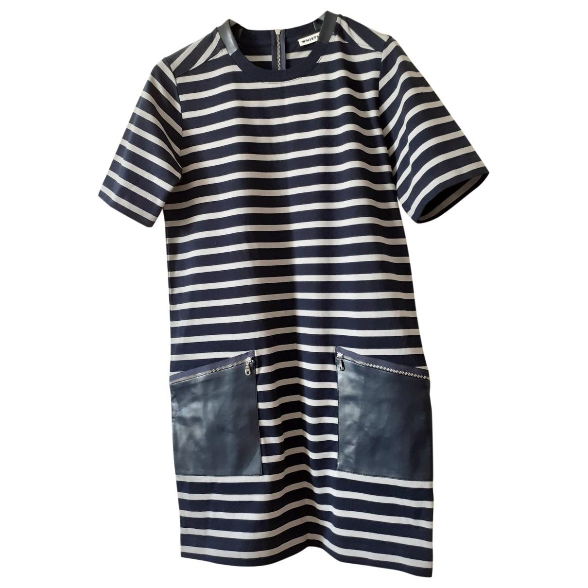 Whistles \N Kleid in  Blau Baumwolle