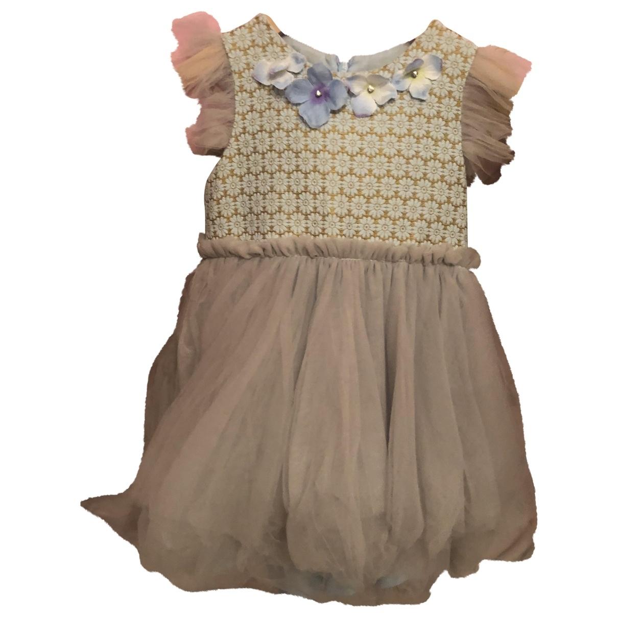 Mischka Aoki \N Blue Silk dress for Kids 3 years - up to 98cm FR