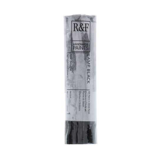 R&f® Handmade Paints Pigment Stick®, 100 ml By R&f Handmade Paints in Lamp Black | Michaels®