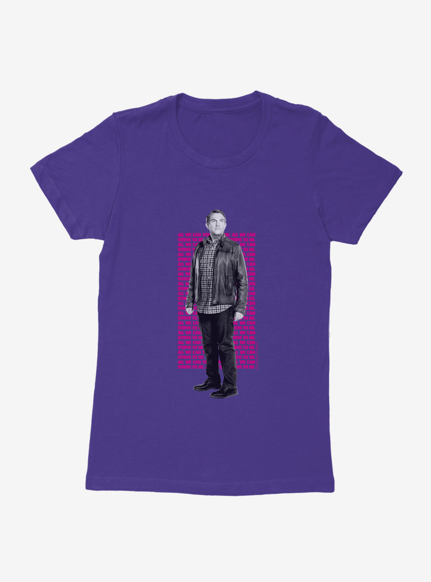 Doctor Who Thirteenth Doctor Graham Strive To Be Womens T-Shirt