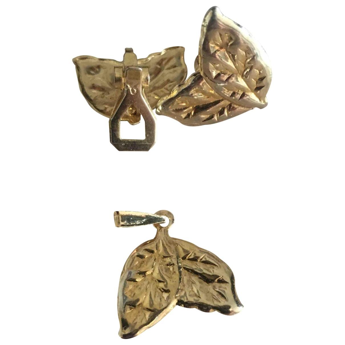 Calvin Klein \N Schmuck-set in  Gold Vergoldet