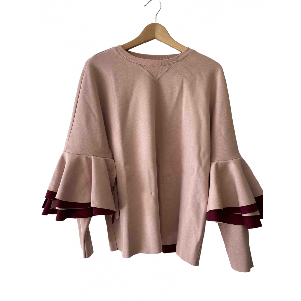 Ted Baker \N Pink Cotton  top for Women 3 0-5