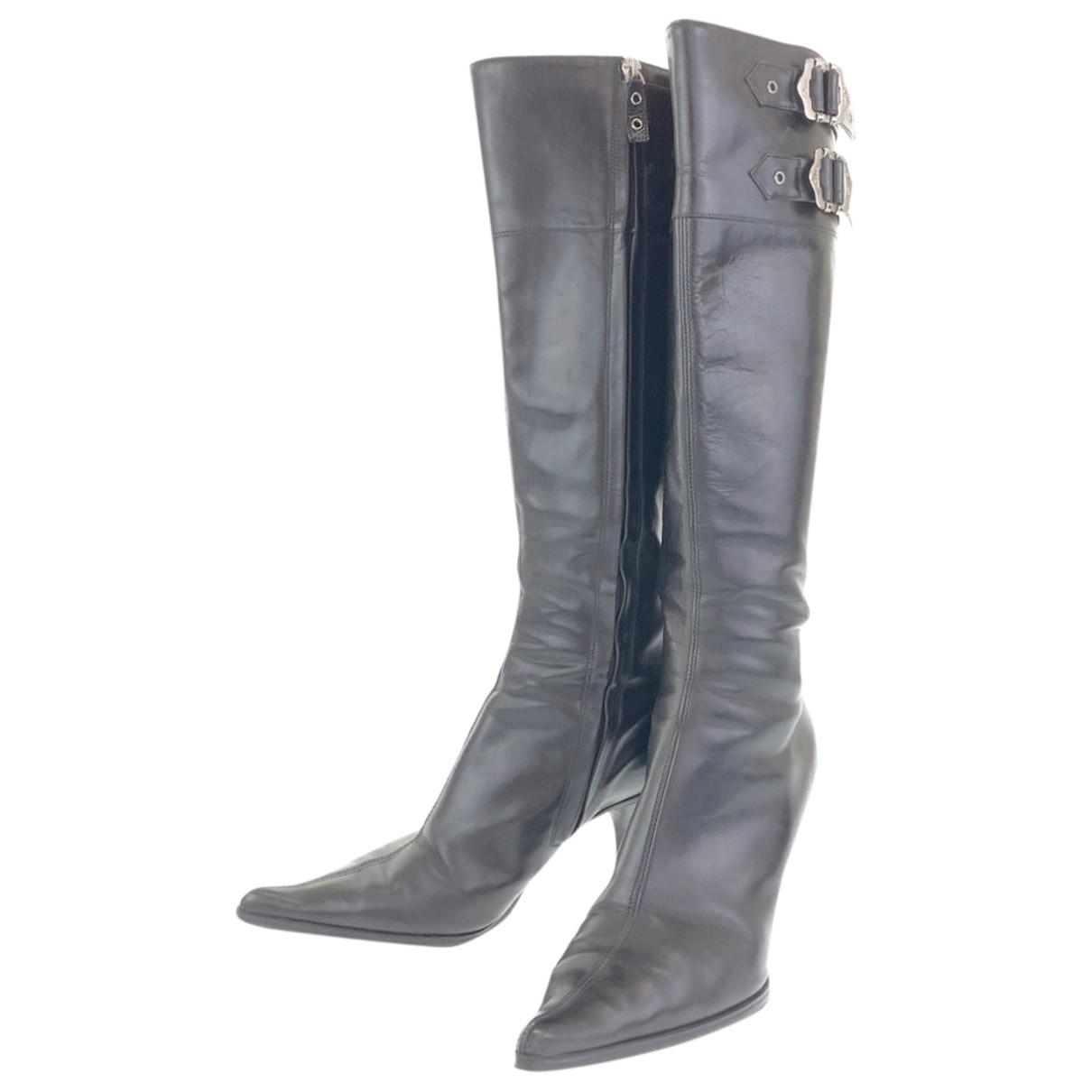 Dior - Bottes   pour femme en cuir