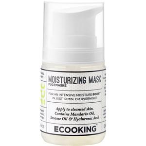 ECOOKING Gesichtspflege Scrub & Masks Mandarinenol & Sesamol & Hyaluronic Acid Moisturizing Mask 50 ml