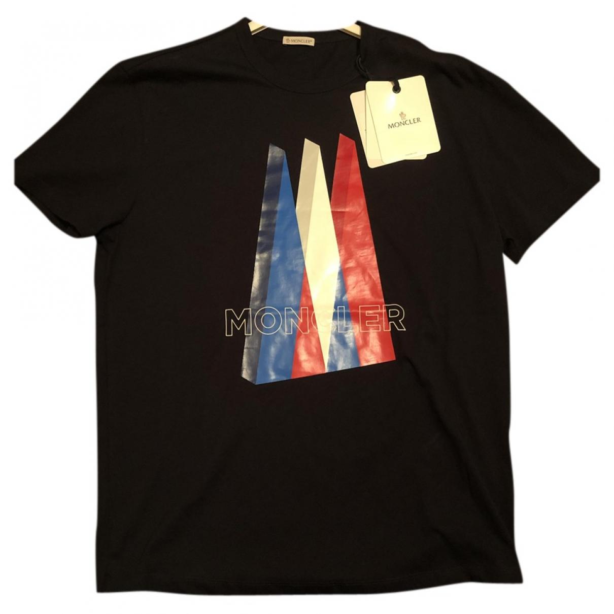 Moncler \N T-Shirts in  Schwarz Baumwolle