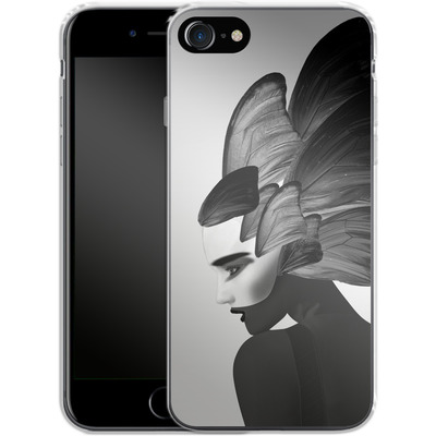 Apple iPhone 7 Silikon Handyhuelle - Lady D von Mark Ashkenazi