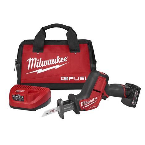 Milwaukee M12 Fuel™ Hackzall® Reciprocating Saw Kit