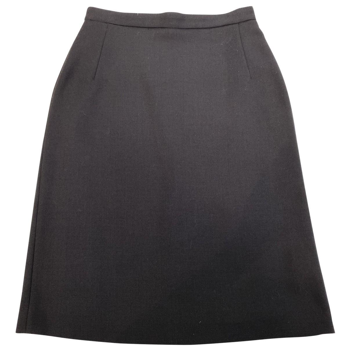 Falda midi de Lana Versus