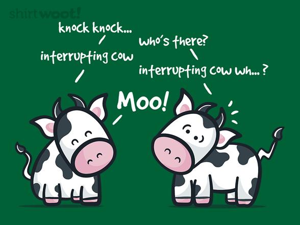 Cow Jokes T Shirt
