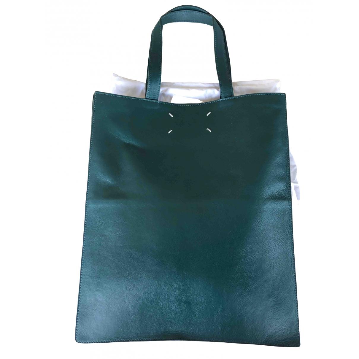 Maison Martin Margiela \N Green Leather handbag for Women \N