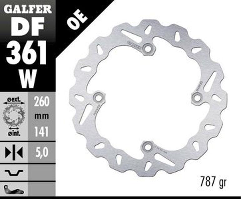 Galfer Rear Brake Disc SUZUKI DL 1000 V-STROM