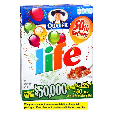 Life Cereal - 13.0 Ounces